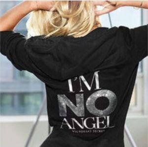 Victoria's Secret I'm No Angel Hoodie Like New!